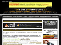 http://www.monecoledeconduite.ca